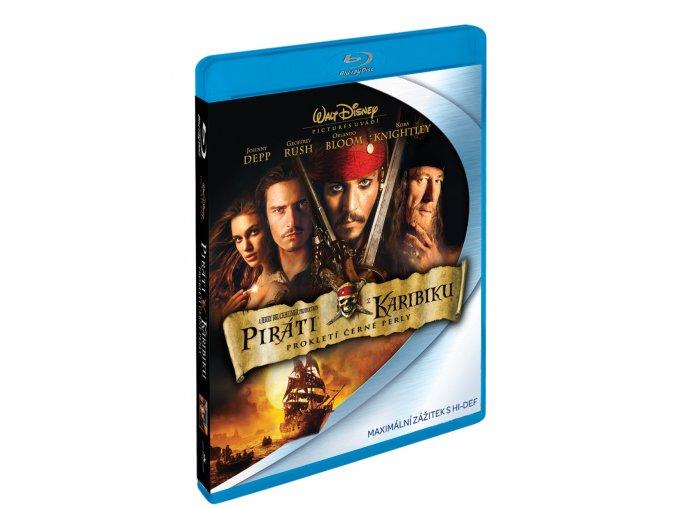 Blu-ray: Piráti z Karibiku: Prokletí Černé perly