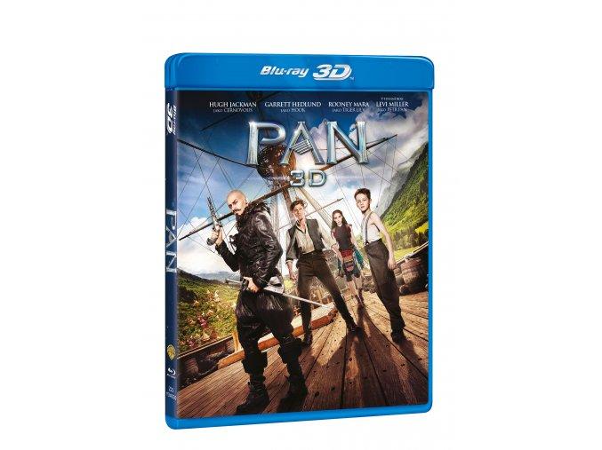 Blu-ray: Pan (3D+2D) 2 BD