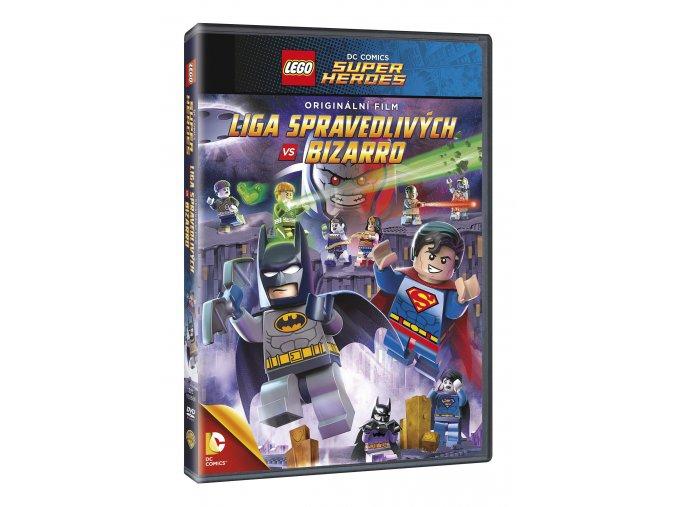 DVD: Lego: DC - Liga spravedlivých vs. Bizarro