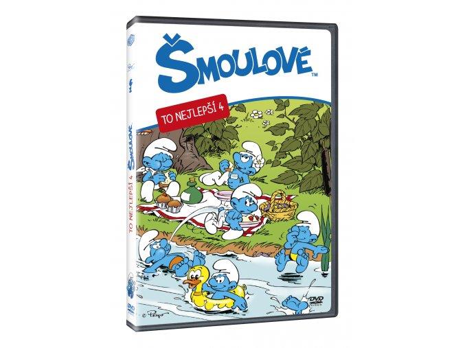 Šmoulové - To nejlepší 4. DVD