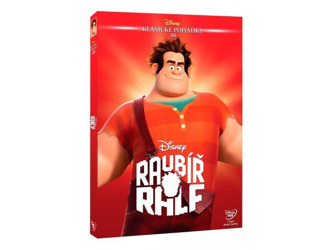 DVD: Raubíř Ralf - Edice Disney klasické pohádky