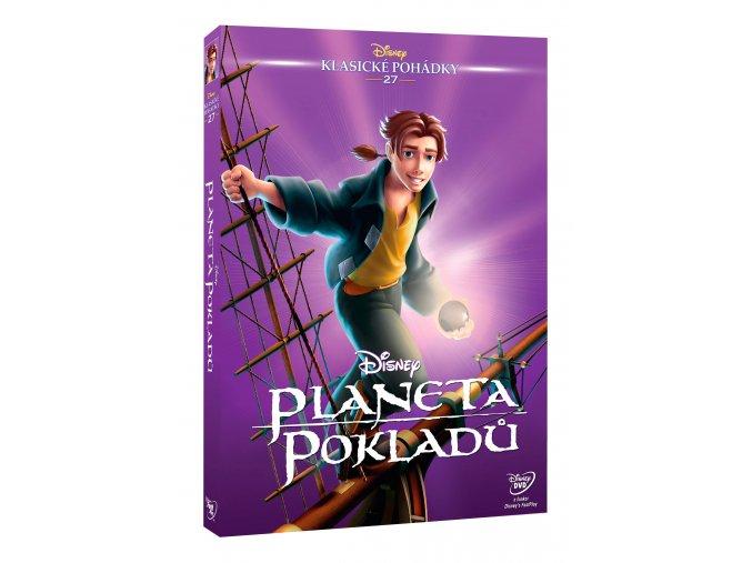 DVD: Planeta pokladů - Edice Disney klasické pohádky