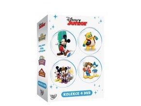 DVD: Disney Junior kolekce 4DVD