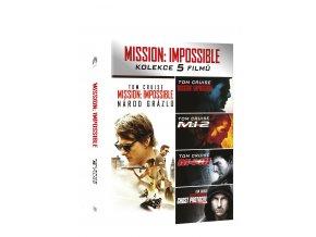 Mission: Impossible kolekce 1-5 DVD