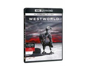 westworld 2 serie 3blu ray uhd 3D O