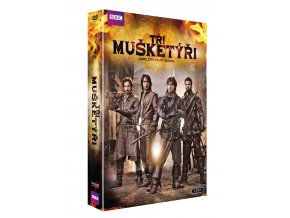 tri musketyri kompletni i sezona 4dvd 3D O