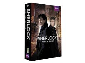 sherlock iii serie kolekce 3dvd 3D O