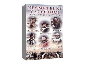 nesmrtelni valecnici kolekce 6dvd 3D O