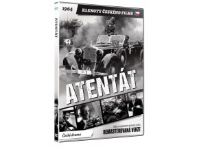 atentat dvd remasterovana verze 3D O