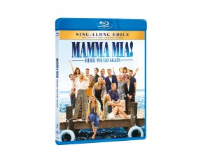 mamma mia here we go again blu ray 3D O
