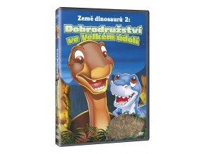 zeme dinosauru 2 dobrodruzstvi ve velkem udoli 3D O