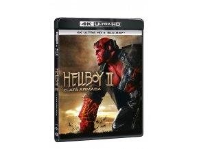 hellboy 2 zlata armada 2bd uhd bd 3D O