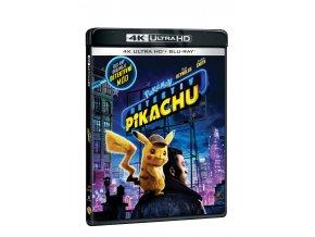 pokemon detektiv pikachu 2blu ray uhd bd 3D O