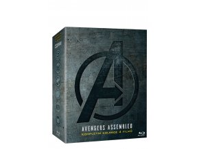 avengers kolekce 1 4 4bd 3D O