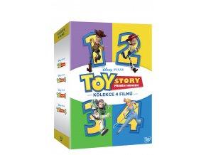 toy story pribeh hracek kolekce 1 4 4dvd 3D O