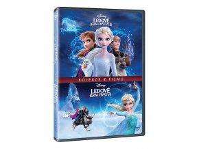 ledove kralovstvi kolekce 1 2 2dvd 3D O