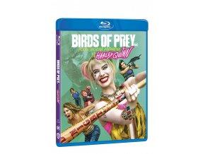 birds of prey podivuhodna promena harley quinn blu ray 3D O