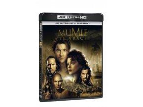 mumie se vraci 2bd uhd bd 3D O