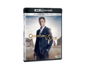 quantum of solace 2blu ray uhd bd 3D O