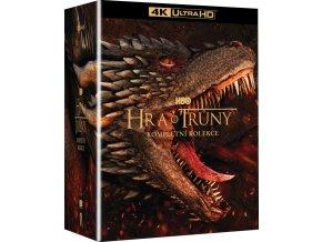 hra o truny kolekce 1 8 serie 30blu ray uhd 3bd bonus disk 3D O