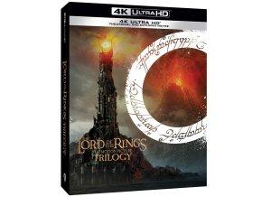 pan prstenu filmova trilogie prodlouzena a kinova verze 9bd blu ray uhd 3D O