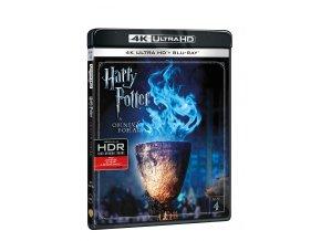 Harry Potter a Ohnivý pohár 2BD (UHD+BD)