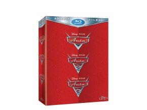 Blu-ray: Auta kolekce 1.-3. 3BD