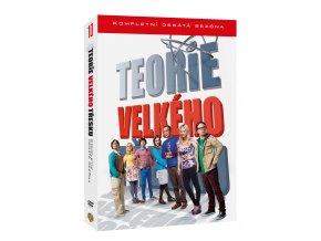 DVD: Teorie velkého třesku 10.série 3DVD