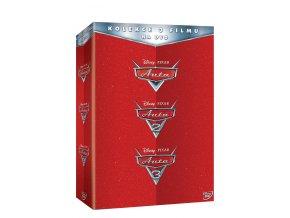 DVD: Auta kolekce 1.-3. 3DVD