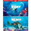 Hledá se Nemo + Hledá se Dory kolekce 4BD (3D+2D)
