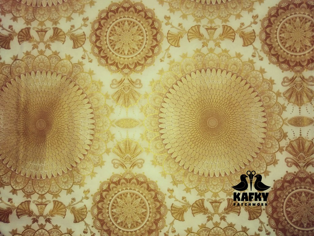 Tresure of Alexandria mandala ivory
