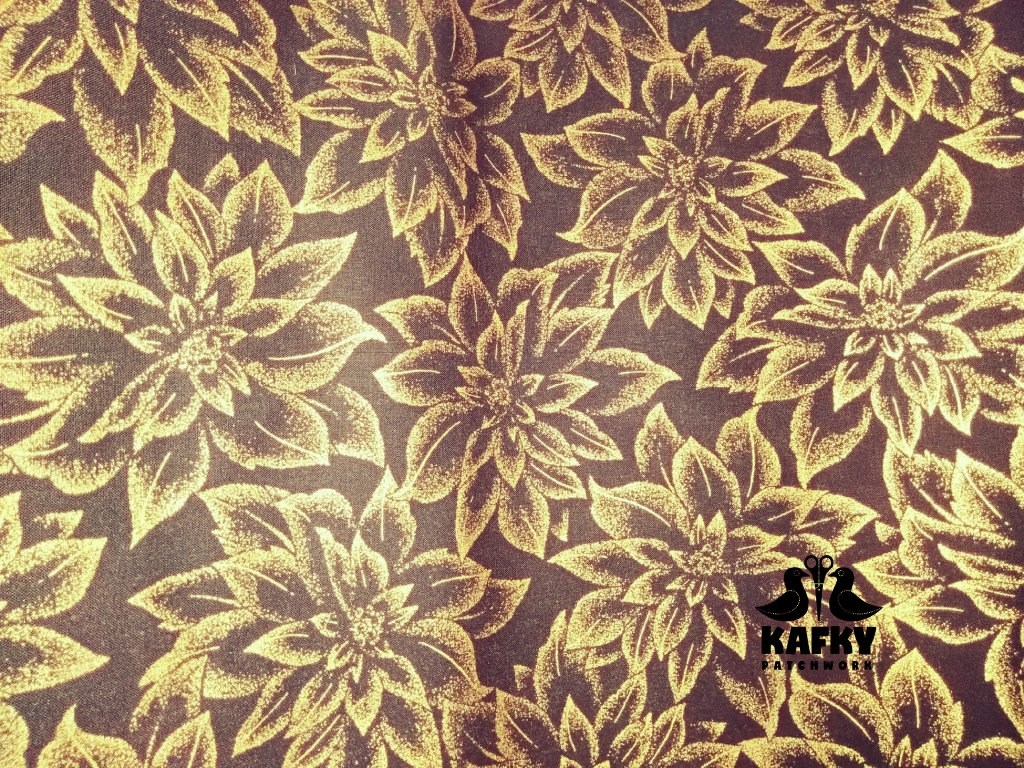 Holiday Flourish 12 gold