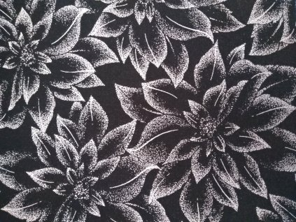 Holiday Flourish 12 black