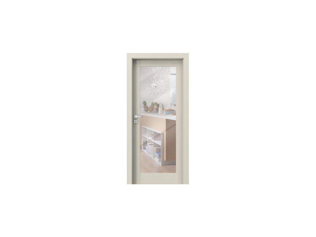 porta doors porta grande vzor a1 so zrkadlom na jednej strane