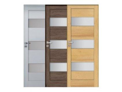 Interiérové dvere INVADO SIENA 3_AKCIA (samostatné krídlo) - DODANIE DO 14 dní