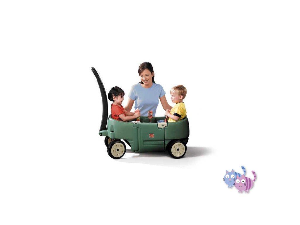 STEP2 Vozítko pro 2 děti
