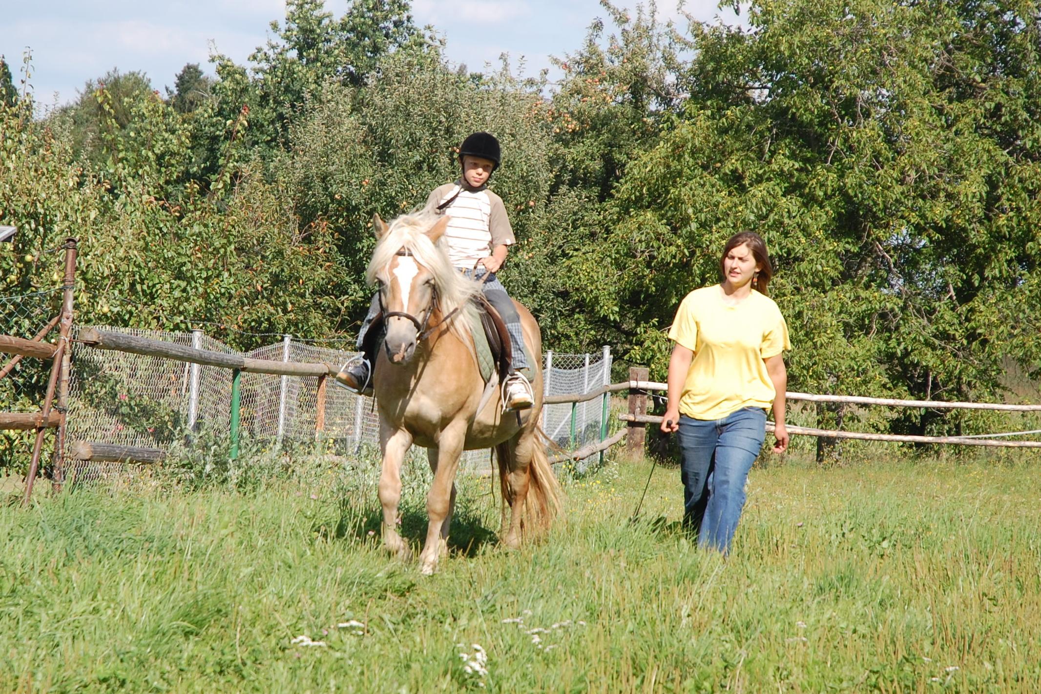 4. Jízdy na koni