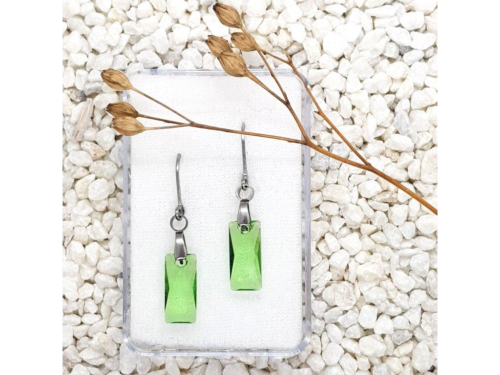 hranolky zelené