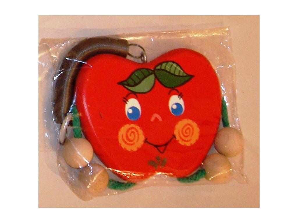 Pružináček - jablíčko