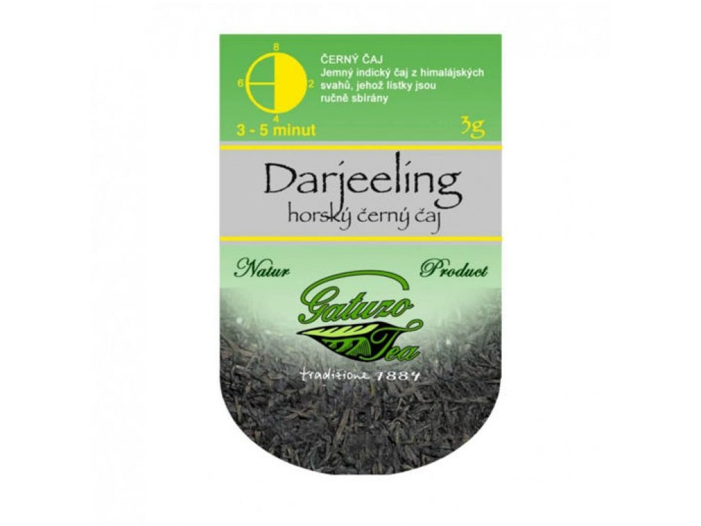 Čaj Gatuzo - Darjeeling 1 ks