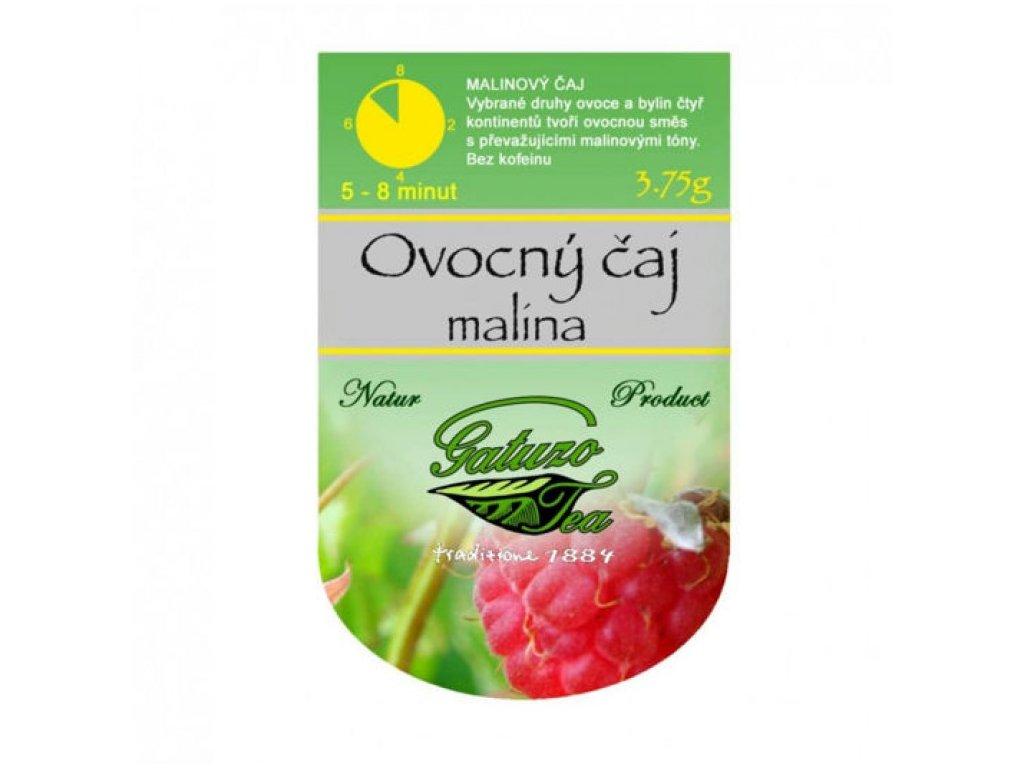 Čaj Gatuzo - Malina 1 ks