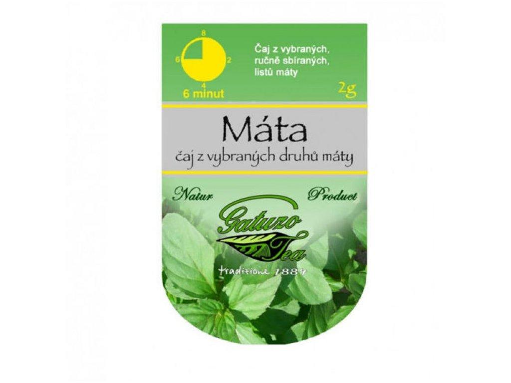 Čaj Gatuzo - Máta 1 ks