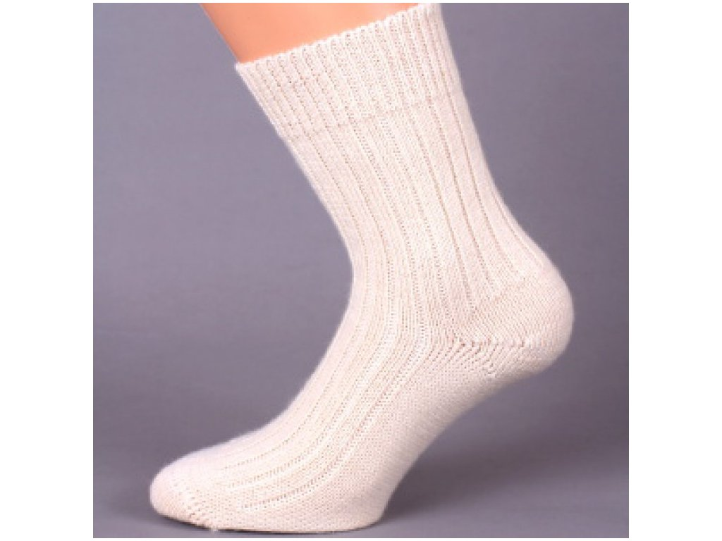 ALICE volný lem ponožky vlna