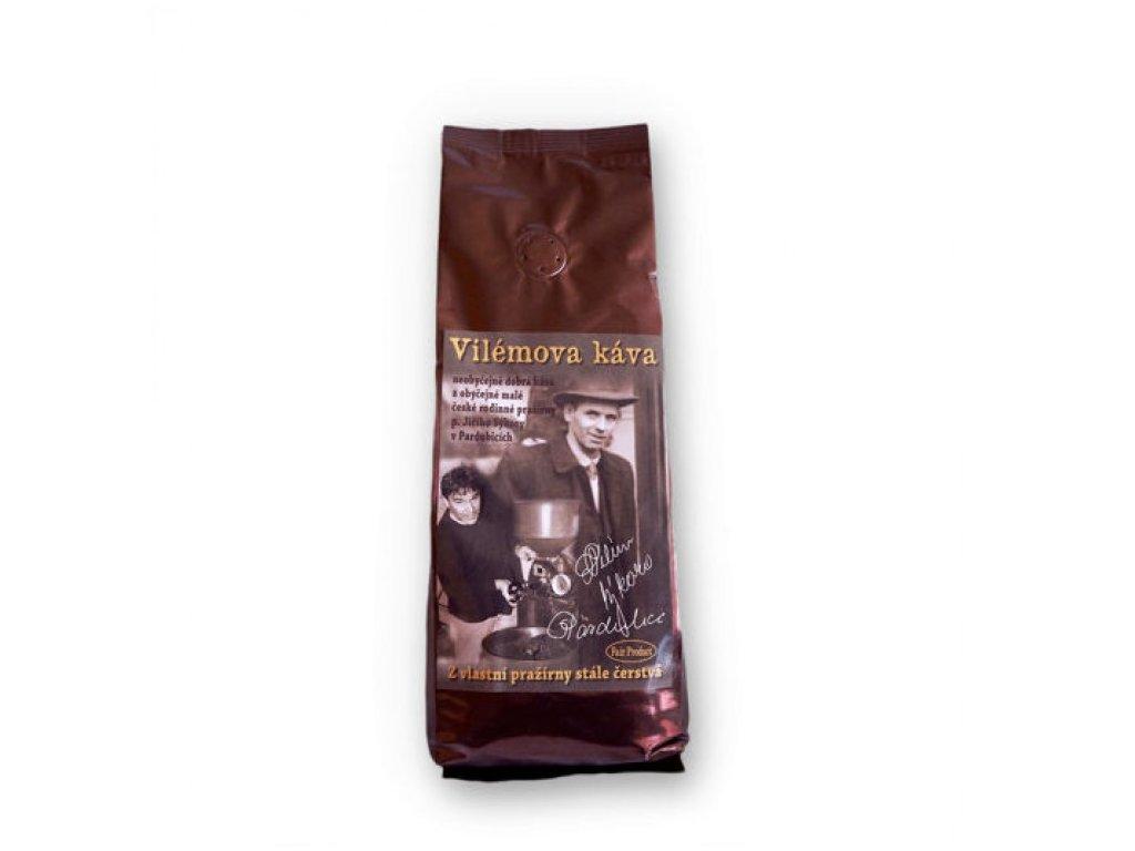 Vilémova káva 500 g zrnková