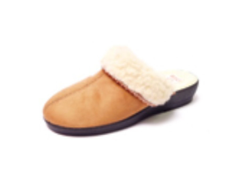 Pantofle dámské ohrnuté ROGALLO