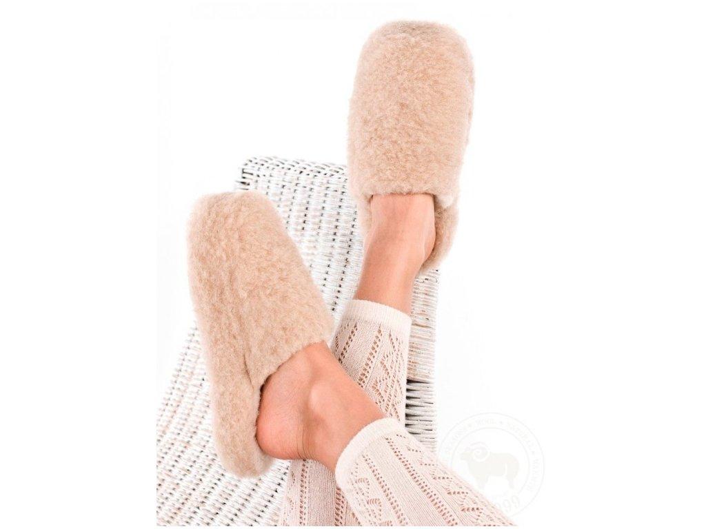 Pantofle vlněné ALWERO