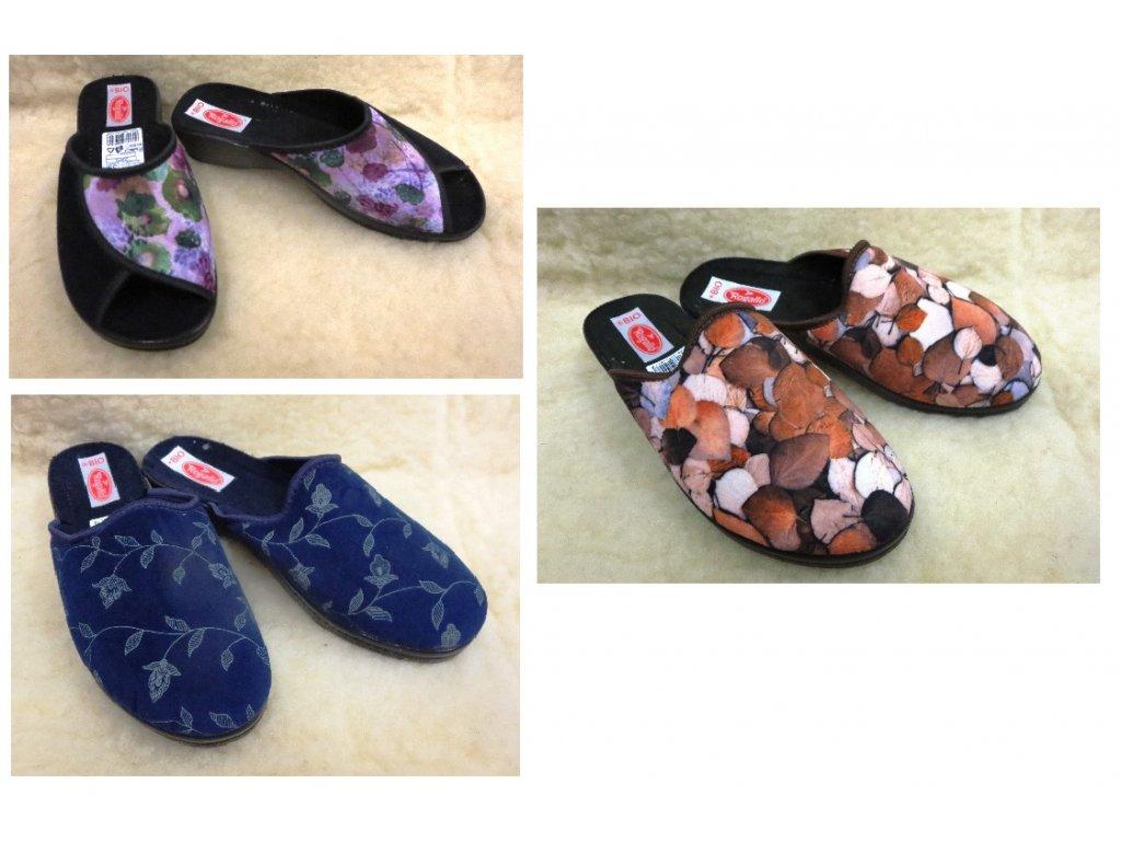 Pantofle dámské nezateplené ROGALLO