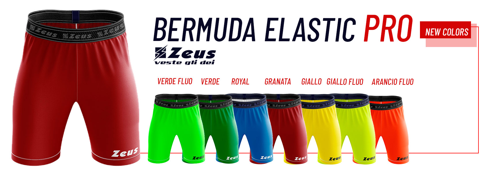 Elastic bermudy Zeus PRO