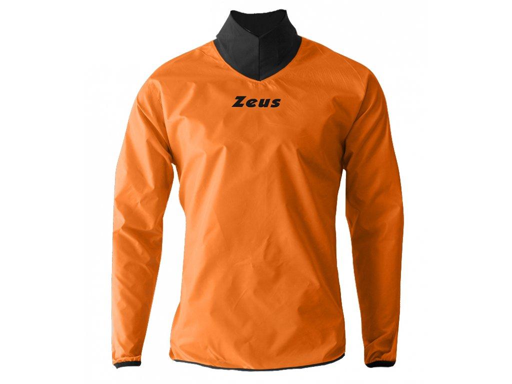 843 95 kway neck arancio fluo OK