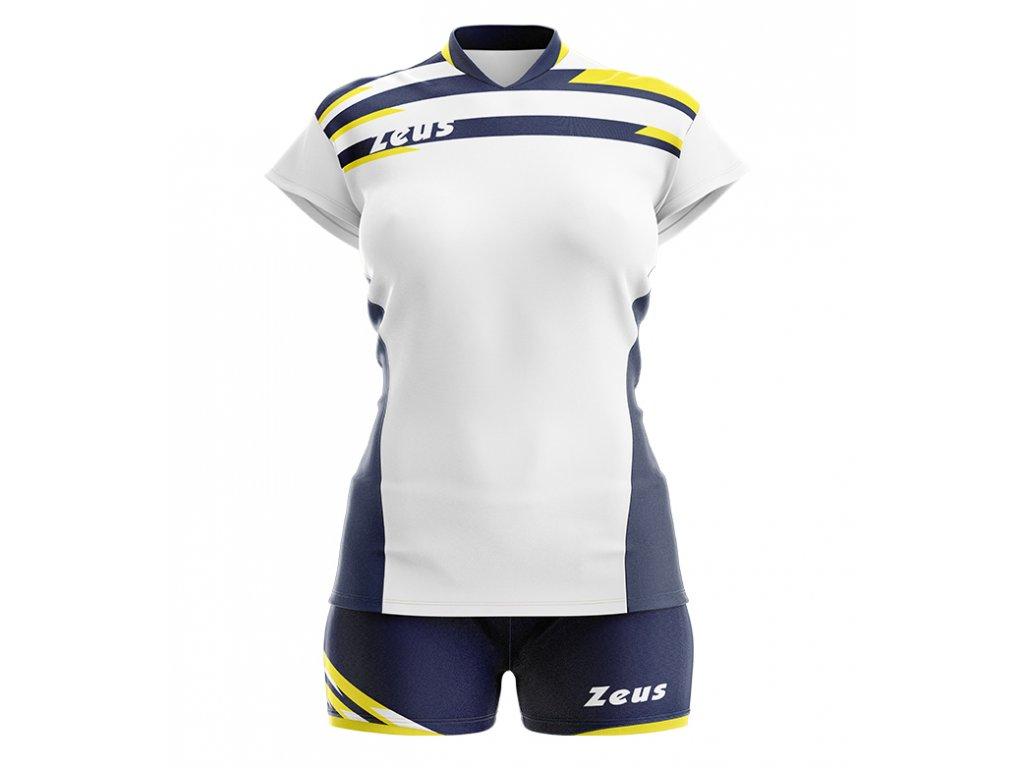 kit itaca donna bianco giallo blu